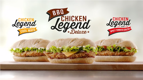 McDonalds Chicken Legend